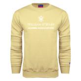 Champion Vegas Gold Fleece Crew-Alumni Association Stacked