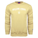 Champion Vegas Gold Fleece Crew-Arched Collegiate William & Mary Alumni
