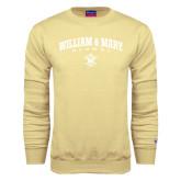 Champion Vegas Gold Fleece Crew-Arched Collegiate William & Mary Alumni