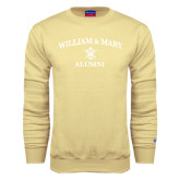 Champion Vegas Gold Fleece Crew-Arched Academic William & Mary Alumni