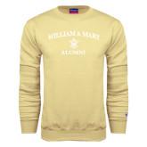 Champion Vegas Gold Fleece Crew-Arched Academic William & Mary Alumni