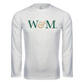 Syntrel Performance White Longsleeve Shirt-W&M