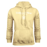 Champion Vegas Gold Fleece Hoodie-William & Mary Script Alumni