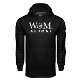 Under Armour Black Performance Sweats Team Hoodie-W&M Alumni
