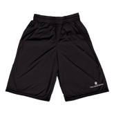 Russell Performance Black 9 Inch Short w/Pockets-William and Mary