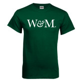 Dark Green T Shirt-W&M