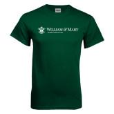 Dark Green T Shirt-Alumni Association Flat
