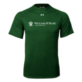 Under Armour Dark Green Tech Tee-Alumni Association Flat