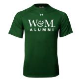 Under Armour Dark Green Tech Tee-W&M Alumni