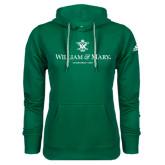 Adidas Climawarm Dark Green Team Issue Hoodie-Chartered Logo
