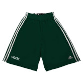Adidas Climalite Dark Green Practice Short-W&M