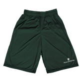 Performance Classic Dark Green 9 Inch Short-William and Mary