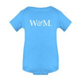 Light Blue Infant Onesie-W&M