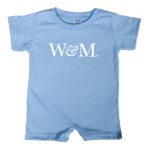 Light Blue Infant Romper-W&M