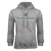 Grey Fleece Hoodie-William and Mary