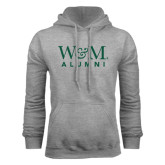 Grey Fleece Hoodie-W&M Alumni
