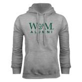 Grey Fleece Hoodie-W&M Alumni