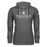 Adidas Climawarm Charcoal Team Issue Hoodie-Chartered Logo