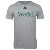 Adidas Sport Grey Logo T Shirt-W&M