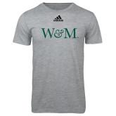 Adidas Sport Grey Logo T Shirt-W&M