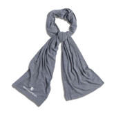 Grey Eco Jersey Bundle Up Scarf-William and Mary