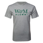 Grey T Shirt-W&M Alumni
