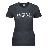 Ladies Dark Heather T Shirt-W&M