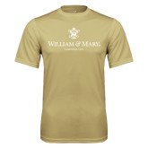 Performance Vegas Gold Tee-Chartered Logo