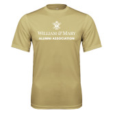 Performance Vegas Gold Tee-Alumni Association Stacked