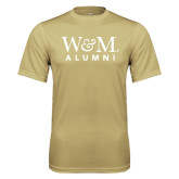 Performance Vegas Gold Tee-W&M Alumni