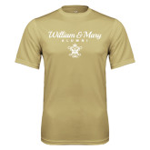 Performance Vegas Gold Tee-William & Mary Script Alumni