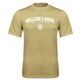 Performance Vegas Gold Tee-Arched Collegiate William & Mary Alumni