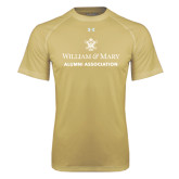 Under Armour Vegas Gold Tech Tee-Alumni Association Stacked