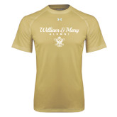 Under Armour Vegas Gold Tech Tee-William & Mary Script Alumni