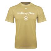 Under Armour Vegas Gold Tech Tee-William & Mary Script Alumni