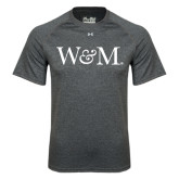 Under Armour Carbon Heather Tech Tee-W&M