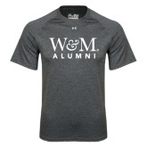 Under Armour Carbon Heather Tech Tee-W&M Alumni