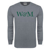 Charcoal Long Sleeve T Shirt-W&M