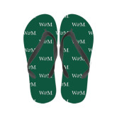 Ladies Full Color Flip Flops-W&M