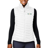 Columbia Mighty LITE Ladies White Vest-W&M