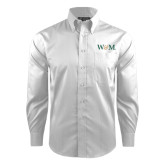 Red House White Dobby Long Sleeve Shirt-W&M