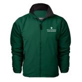 Dark Green Survivor Jacket-Alumni Association Stacked