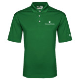 Under Armour Dark Green Performance Polo-William and Mary
