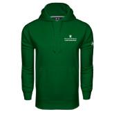 Under Armour Dark Green Performance Sweats Team Hoodie-Alumni Association Stacked