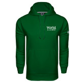 Under Armour Dark Green Performance Sweats Team Hoodie-W&M Alumni