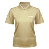 Ladies Vegas Gold Dry Mesh Polo-W&M