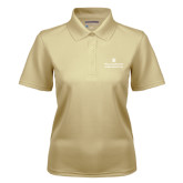 Ladies Vegas Gold Dry Mesh Polo-Alumni Association Stacked