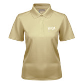 Ladies Vegas Gold Dry Mesh Polo-W&M Alumni