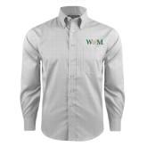 Red House Grey Plaid Long Sleeve Shirt-W&M