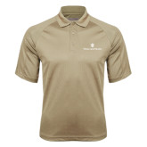 Vegas Gold Textured Saddle Shoulder Polo-William and Mary